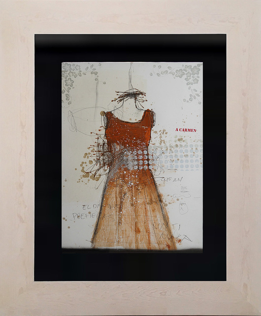 , 'Mi pintura vestida de mujer II,' 2017, Lux Perpetua Art Centre