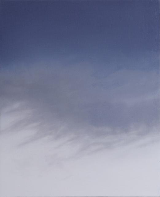 Rebecca Partridge, '30 Day Sky Studies (01)', 2017-2018, Parafin