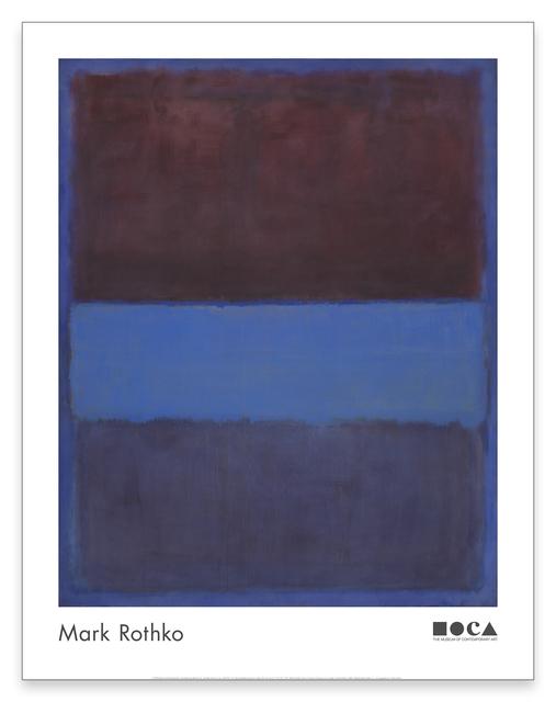 Mark Rothko, 'No. 61 Poster', 2018, MOCA