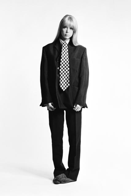 , 'Pattie Boyd in suit and tie,' 1966, Snap Galleries