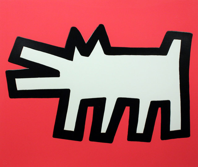 , 'Red Dog (Icons) ,' 1990, Gormleys Fine Art