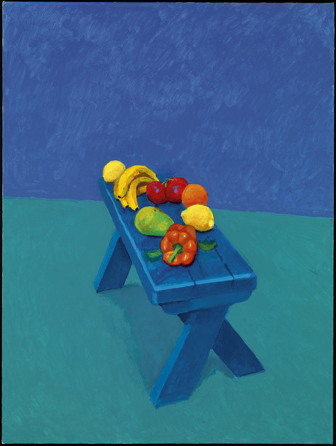 ", '""Fruit on a Bench, 6th, 7th, 8th March 2014"" from ""82 Portraits and 1 Still-Life"" ,' 2014, Guggenheim Museum Bilbao"