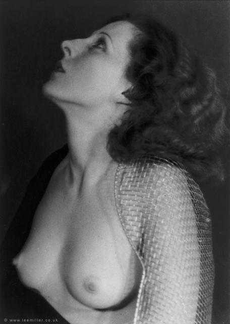 , 'Nude wearing sabre guard,' ca. 1930, °CLAIR Galerie