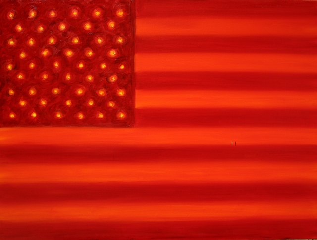 , 'Red Flag,' 2016, Ashok Jain Gallery