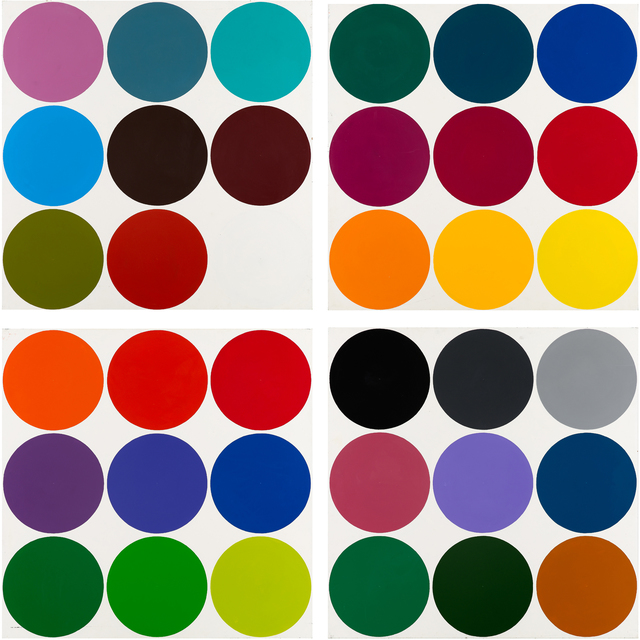 , 'Untitled (Dot painting),' 1966, Galleri Nicolai Wallner