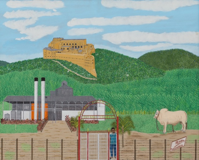 , 'A Closed Sugar Factory with the Citadel, in the Distance,' , ZQ Art Gallery