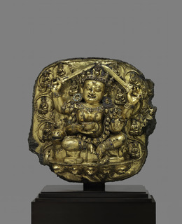 , 'Dhumavati Shri Devi,' Early 15th century, Asia Society