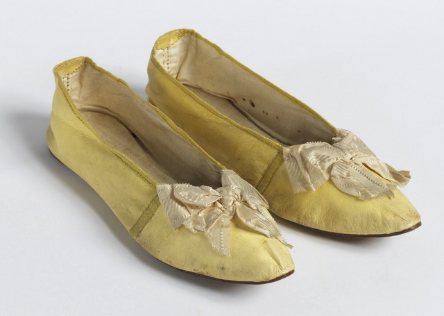 , 'Pair of slippers,' 1830, Cooper Hewitt, Smithsonian Design Museum