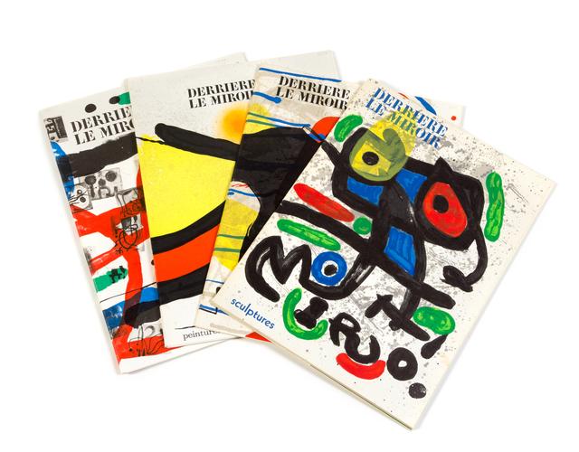 Joan Miró, 'Derriere le miroir, Nos. 151-152, 186, 193-194, 203 (a group of 4)', Hindman
