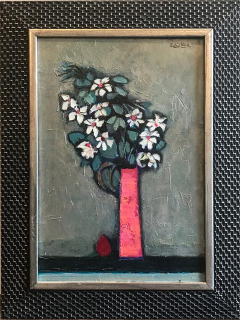 David Adickes, 'Red Vase Floral', 1998, Thornwood Gallery