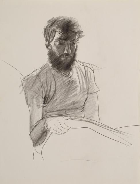 , 'Portrait of Patrick Angus ( With Beard ),' , Galerie Thomas Fuchs