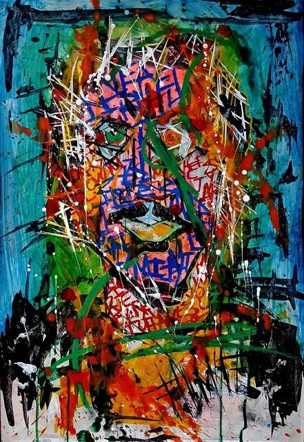 Franck de las Mercedes, 'Alejandro GI', 2017, Painting, Acrylic on canvas, The Contemporary Art Modern Project