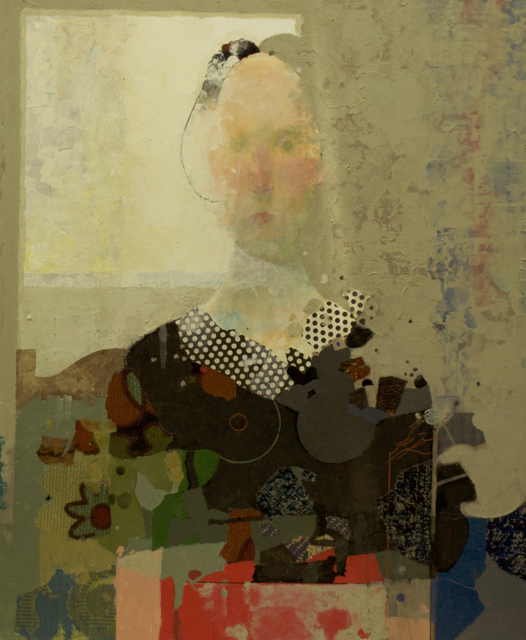 Mark English, 'Erica by the Window', Contemporary, Sager Braudis Gallery