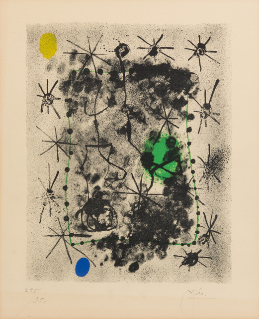 Joan Miró, 'Untitled (from Constellations)', 1959, Hindman