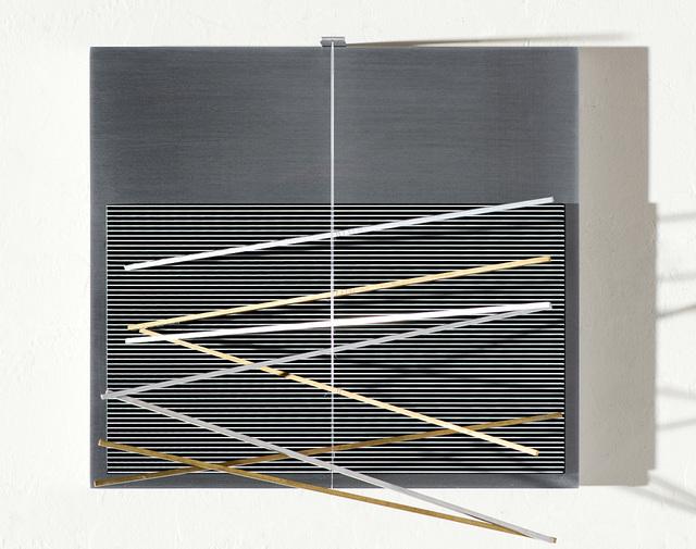 , 'Vibrations Metalliques,' 1969, Larsen Gallery