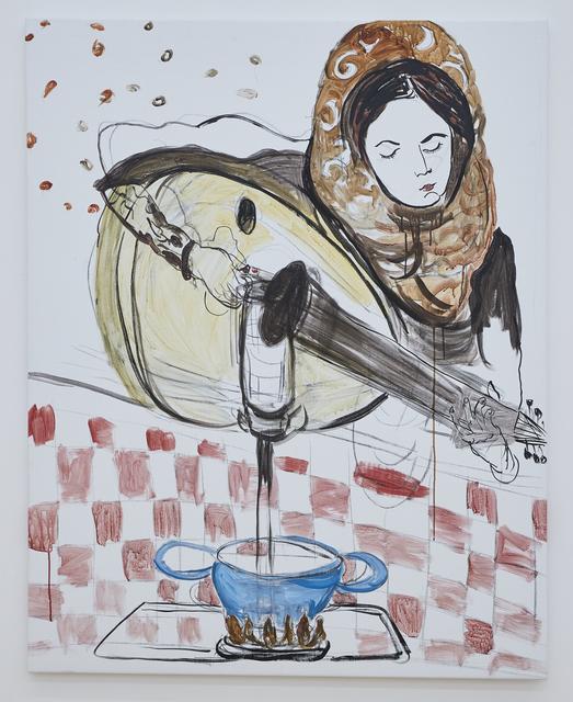 Mounira Al Solh, 'Isaaf & the luth', 2016, Alexander and Bonin