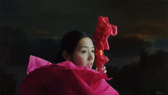 Zeng Chuanxing, 'Guyu Lake Sunset', 2018, Soemo Fine Arts
