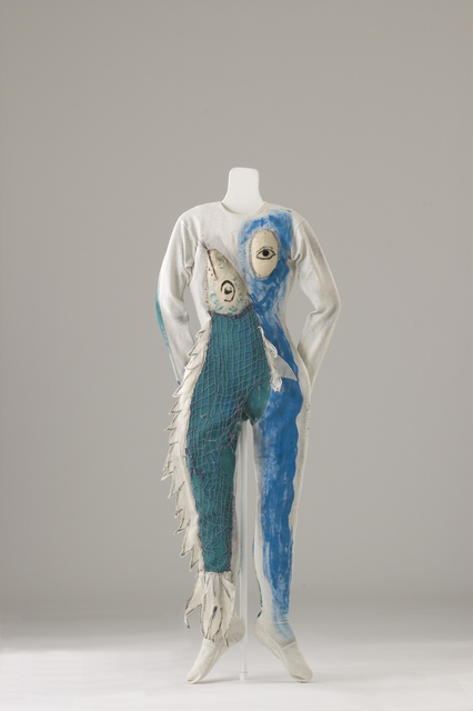 , 'Costume for a Fish (Aleko Scene IV) (Costume pour un poisson [Aleko Scène IV]),' 1942, Dallas Museum of Art