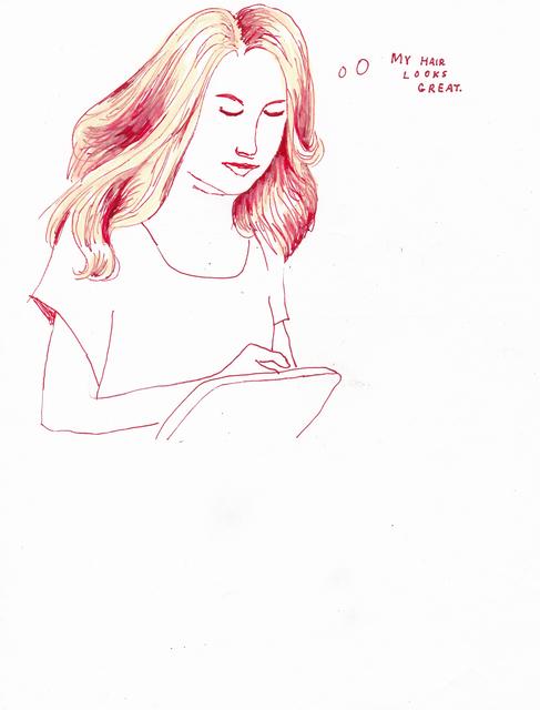 , 'Great Hair,' 2015, Lora Reynolds Gallery