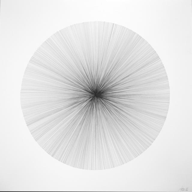 , 'Each Line One Breath - Sphere,' 2016, PARKVIEW ART Hong Kong