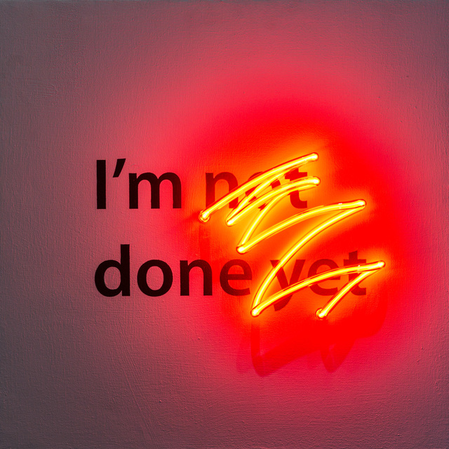 , 'I'm Not Done Yet,' 2017, k contemporary