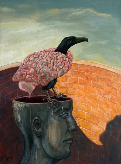 , 'Le Cerveau impérialiste,' 1996, Anne Barrault