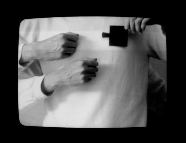 , 'Uma mão pode esconder a outra,' 1992, Central Galeria de Arte