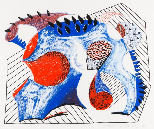 David Hockney, 'Untitled (For Joel Wachs)', 1993, Zeit Contemporary Art