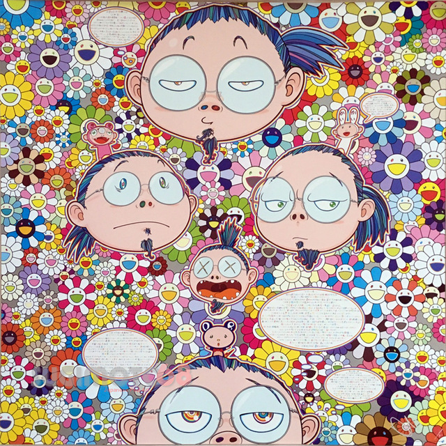 Takashi Murakami, 'Self-Portrait of the Manifold Worries of a Manifoldly Distressed Artist', 2017, Lougher Contemporary