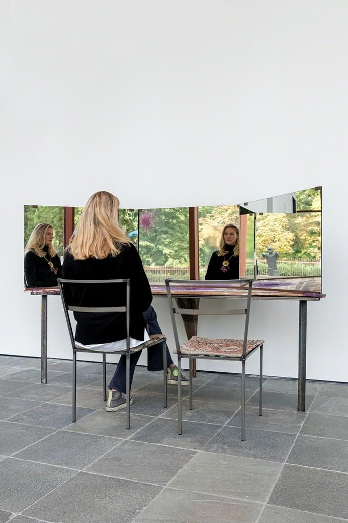 Franz West, Psyche, 1987 Courtesy Collection Grässlin, St. Georgen; Photo: Johannes Stoll, © Belvedere, Vienna, 2017