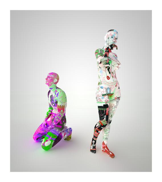 , 'Aspettatori (gradient) VI,' 2014, Galerie Reinhard Hauff