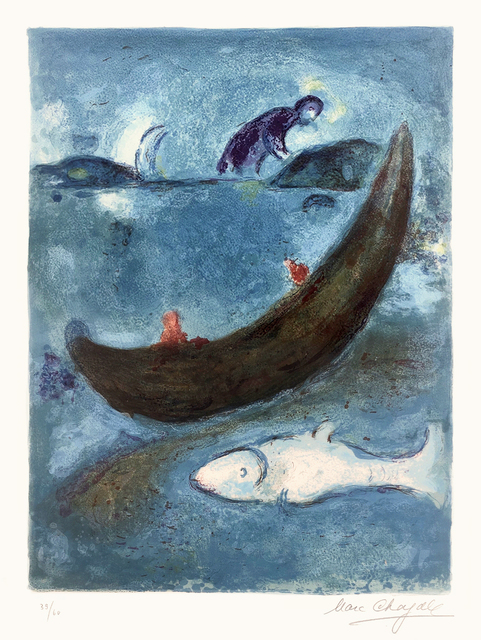 Marc Chagall, 'Le Dauphin mort et les trois cents Écus (The Dead Dolphin and the Thee Hundred Dracmas)', 1960, Masterworks Fine Art