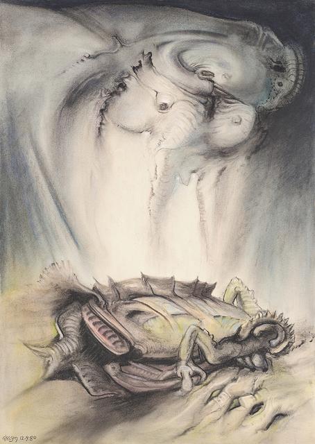 , '(Evolving animal),' 1980, Charles Nodrum Gallery