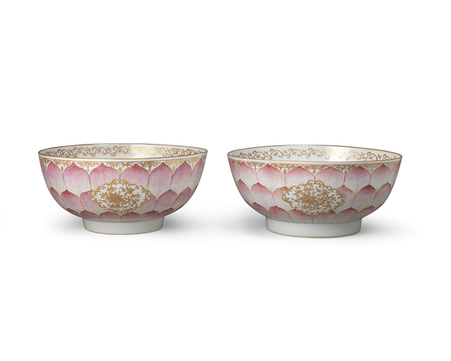 , 'Two 'Lotus' Bowls,' 1736-1795, Jorge Welsh Works of Art