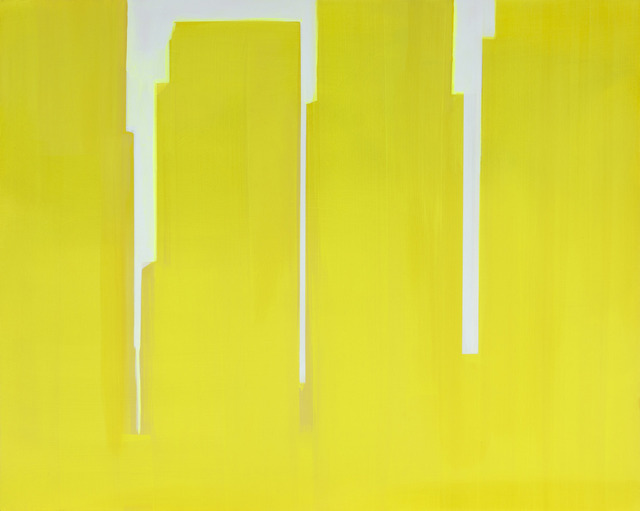 , 'In Absentia (Yellow - Pink White),' 2015, Division Gallery