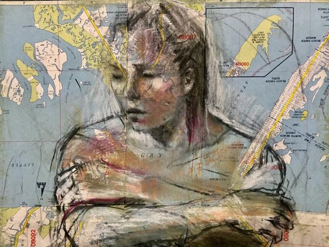 , 'Acquatic Figure,' 2018, Tabla Rasa Gallery