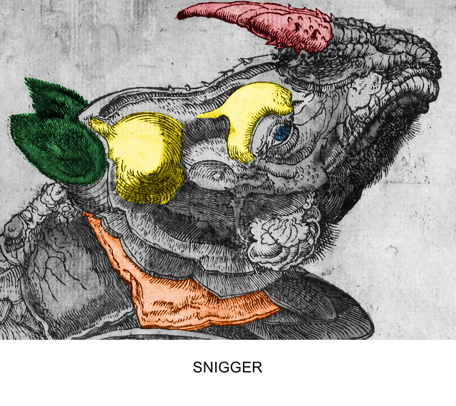 , 'Engravings with Sounds: Snigger,' 2016, Cirrus Gallery and Cirrus Editions Ltd