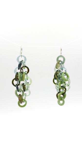 , 'Green Earrings,' 2017, Facèré Jewelry Art Gallery