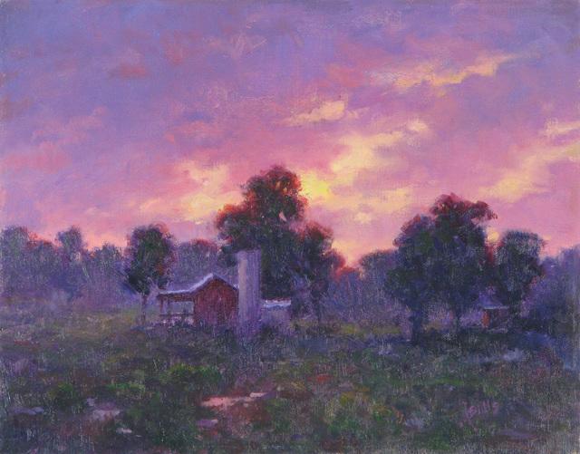 John Brandon Sills, 'Sunset', Merritt Gallery