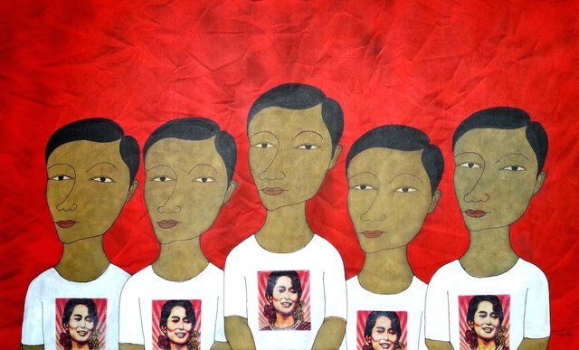 Min Zaw, 'The Loss of Identity #26 ', 2014, Intersections Gallery Myanmar & Singapore