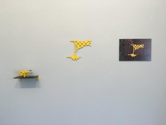 , 'Carrer De Mallorca 221/223, Barcelona, Spain #2 (three parts),' 2017, Sebastian Fath Contemporary
