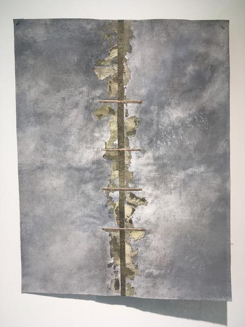 Grace Bakst Wapner, 'Grey Scale', 2019, Textile Arts, Mixed Media, Carter Burden Gallery
