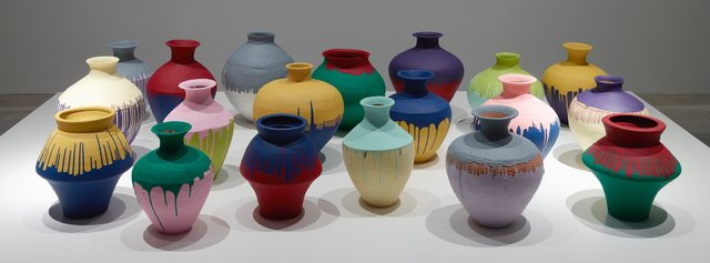 , 'Colored Vases,' 2015, Faurschou Foundation