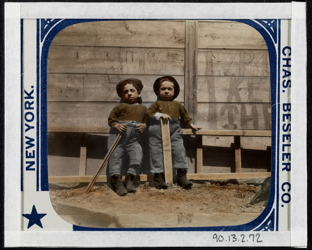 """Jacob A. Riis, 'The Mott Street Boys, """"Keep off the Grass""""', ca. 1890, Museum of the City of New York"""