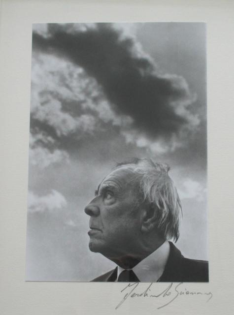 , 'Jorge Luís Borges,' ca. 1980, Fólio Livraria