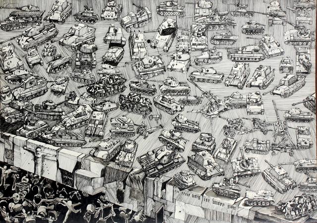 """, '""""ein feste bug ist unser gott"""",' 1967, Benjaman Gallery Group"""