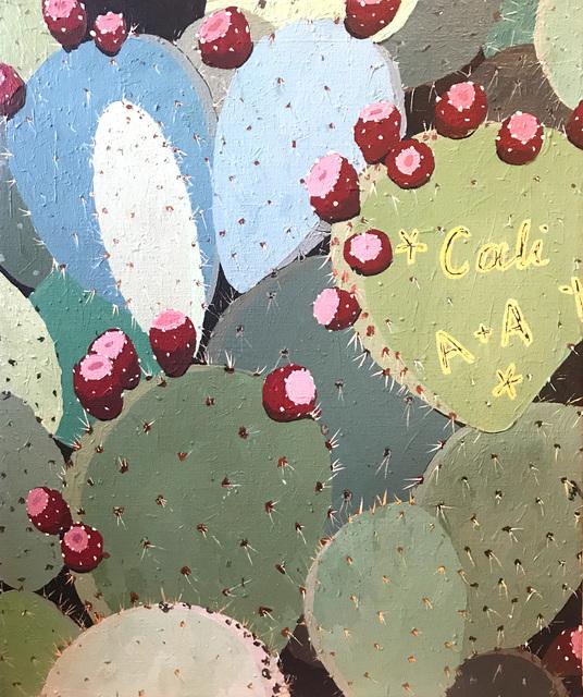 , 'Cali Cactus,' 2018, Galerie Droste