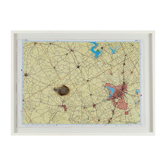 , 'Meteorite Misses Waco, Texas,' 2001, Plinth