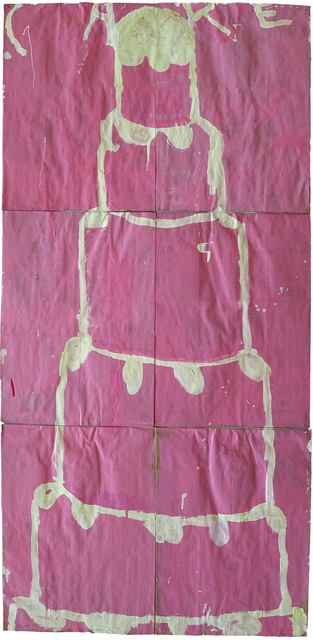 , 'Stacked Cake (Creme on Pink),' , Gail Severn Gallery