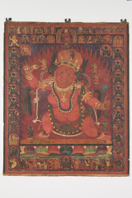 '  Guru Dragpo, a wrathful form of Padmasambhava', 15th century, Rubin Museum of Art